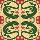 Lizard,Southwest USA,North American Tribal Culture,Dragonfly,Indian Culture,Symbol,Indigenous Culture,Reptile,Design,Insect,Ilustration,Clip Art,Vector,Computer Graphic,Reptiles,Animals And Pets,Symmetry,Rough