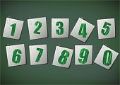 Ilustration,Learning,Computer Graphic,Education,Collection,Mathematical Symbol,Number,Typescript,Number 3,Symbol,Number 6,Vector
