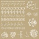 Lace - Textile,Floral Pattern,Bow,Computer Graphic,Beautiful,Fragility,Decor,Thread,Craft Product,Retro Revival,Design Element,Craft,Wedding,Decorating,Textile,embroider,Picture Frame,Set,Greeting Card,Birthday,Design,Material,Ornate,Cutting,Vector,Pattern,Scrapbooking,Decoration,Ribbon,Scrapbook,Frame,Macro,Backgrounds,Paper,Beauty,Textured Effect,Art,Party - Social Event,Textile Industry,Old-fashioned,Ilustration
