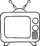 Television Broadcasting,Television Set,Drawing - Art Product,Drawing - Activity,Sketch,House,Box - Container,Black Color,Broadcasting,White Background,Cartoon,Close-up,The Media,Retro Revival,Technology,Old,White,Black And White,Art,Shadow,Digital Viewfinder,Ilustration,Design,Communication,Old-fashioned,No People,Entertainment,Video,Vector,Outline,Single Object,Isolated,Watching