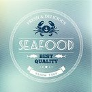 Fish,Prepared Fish,Seafood,Gourmet,Prepared Crab,Restaurant,Crab,Backgrounds,Vector,Label,Bar - Drink Establishment,Cafe,Menu,Ilustration,Dinner,Blue,Computer Graphic,Insignia,Banner,Poster,Meal,Lunch,Food,Freshness,White,Sea,Placard,Pattern,Design