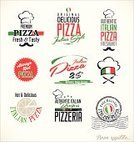Pizza,Sign,Pizzeria,Pizza Box,Label,Insignia,Design,Badge,Cooking,Tomato,Placard,Banner,Marketing,Recipe,Symbol,template,food icons,Pizza Delivery Person,Retro Revival,Old-fashioned,Food,Vector,Pizza Recipes,Slice,pizza slice,Pizza Restaurant,Restaurant