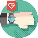 Watch,Computer Icon,Symbol,wearable,Digitally Generated Image,Smartwatch,Surveillance,Pulse Trace,Intelligence,Clock,Innovation,Human Heart,Heart Shape,Healthcare And Medicine,Healthy Lifestyle,Thinking Outside The Box,Digital Display,Ideas,Vector,Personal Assistance,Infographic,Art,Internet,Personal Organizer,Application Software,Concepts,Cardiac Conduction System,Inspiration,Ilustration,user interface,Funky,Listening to Heartbeat,Touch Screen,Wristwatch,Old-fashioned,Data,Design,Portable Information Device,Technology,Futuristic,Smart Watch,Mobility,Heartbeat,Simplicity