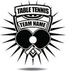 Table Tennis,Insignia,Sign,Close-up,Black Color,Collection,Badge,Equipment,Competitive Sport,Sports League,Shape,Vector,Table Tennis Racket,Single Object,Fun,Activity,Leisure Games,Season,Outline,Shield,Sports Team,White,No People,Image,Computer Graphic,Symbol,Computer Icon,Ilustration,Sport