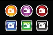 Photography,Camera - Photographic Equipment,Photograph,Interface Icons,Symbol,Web Page,Religious Icon,Circle,Sign,Icon Set,Computer Icon,Set,Push Button,Orange Color,Single Object,Business,Black Color,Crystal,Computer,Individuality,web icon,Color Image,Square Shape,Shape,Vector,Shiny,Metal,Silver - Metal,Electronics Industry,Black Background,Silver Colored,Square,Blue,Metallic,Purple,Green Color,Electrical Equipment,Colors,Internet,Red,Multi Colored,Crystal,Multimedia,www,Illustrations And Vector Art