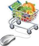 Supermarket,Car,Computer,Cyborg,Monday,Internet,Basket,Thanksgiving,Organic,Connection,E-commerce,Freshness,Support,Market,Fruit,Computer Mouse,Vegetable,Groceries,Shopping Cart,Push Cart,Healthy Eating,Dieting,Buying,Business,Computer Icon,Store,Sale,Salad,Cart,Shopping,Retail,Carrot,Food,Healthy Lifestyle,Isolated,Full,Buy,Technology,Cable,Symbol,Vector