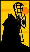 Windmill,Mill,Silhouette,Wind Turbine,Grinding,Cultures,Old,Vector,Built Structure,Cloud - Sky,Fuel and Power Generation,milling,Wind,Sunset,Ilustration,Dawn,Building Exterior,Generator,Machinery,Twilight,Illustrations And Vector Art,Night,Wind Power,Back Lit,Tower,Architecture And Buildings,Old-fashioned,Orange Color,Propeller,Dark,Turning