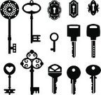 Skeleton Key,Key,Old-fashioned,Antique,Silhouette,Sign,Old,Design,Retro Revival,Symbol,House,Computer Icon,Accessibility,Door,Keyhole,Ancient,Black Color,Vector,House Key,Bottle Opener,Group of Objects,Steel,Lock,Metal,Unlocking,Backgrounds,Design Element,Shape,Collection,Equipment,Single Object,Safe,Isolated,Gate,Open,Set,Classic,Domestic Life,Modern,Decoration,Copper,Security,Safety,Protection,White,1940-1980 Retro-Styled Imagery