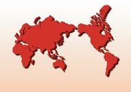 Map,World Map,Three-dimensional Shape,South,Cartography,Red,Asia,China - East Asia,Europe,Japan,Vector,North,Africa,Business,East,Australia,Russia,Art,continents,Clip,countries,Germany,Finance,Planet - Space,Greenland,Norway,Travel,England,Travel Locations,Business Travel,Vector Backgrounds,Geographical Locations,Topography,Ilustration,West - Direction,Land,Business Travel,Business,Illustrations And Vector Art
