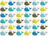Whale,Baby,Child,Color Image,Textured Effect,Lime,Cute,Offspring,Sea,Colors,Textured,Vector,Multi Colored,Backgrounds,Striped,Geometric Shape,Animals In The Wild,Turquoise,Wallpaper Pattern,Mammal,Happiness,Print,Seamless,Yellow,Aquarium,Animal,Fun,Elegance,Part Of,Textile Industry,Textile,Design,Design Element,Shape,Computer Graphic,Style,Cheerful,Love,Pattern,Ilustration,Repetition,Humor,Swimming Animal,Wildlife,Cartoon,Blue,Water,Spotted,Fashion,Wallpaper,Large