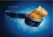 Movie,Movie Theater,Film Industry,Movie Ticket,Ticket,Camera Film,Film Reel,Gold Colored,Wave Pattern,Backgrounds,Night,Cinematographer,Action,Nightlife,Illustrations And Vector Art,Admit One,Event,Transparent,Red,Computer Graphic,Text,Entertainment,Design,Blue,Ilustration,Star Shape,Abstract,Vector