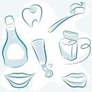 Human Teeth,Dental Health,Toothbrush,Symbol,Dental Equipment,Smiling,Computer Icon,Toothpaste,Human Mouth,Dental Floss,Dental Assistant,Cleaning,Mouthwash,Bright,Clean,Medicine,Science Symbols/Metaphors,Healthy Lifestyle,Concepts And Ideas,Beauty And Health,Medicine And Science