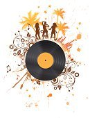 Summer,Party - Social Event,Music,Record,Dancing,Vector,Palm Tree,Tree,Musical Theater,Nightclub,Backgrounds,Swirl,Sound Mixer,Silhouette,Plastic,Dirty,Flower,Art,Design,Floral Pattern,Grunge,Singing,Sound,Entertainment,Funky,Youth Culture,Art Product,Modern,Ilustration,Disco Dancing,Concepts,Ornate,Shape,Scroll Shape,Painted Image,Music,Arts Backgrounds,People,Beautiful,Beauty,Audio Equipment,Arts And Entertainment