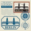 Berlin,Oberbaum,Bridge - Man Made Structure,Rubber Stamp,Set,Vector,Postmark,Monument,Construction Industry,Train,Travel,History,Famous Place,European Culture,Built Structure,Germany,Cultures,Image,Urban Scene,Label,Europe,Subway Station,National Landmark,Paperwork,Insignia,Ilustration,Architecture,Air Mail,River,Watermark,Travel Destinations,Capital Cities,Journey,Tourism,Postage Stamp,Vacations,City