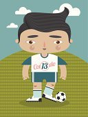 Sport,Ball,Characters,Ilustration,Occupation,Football Player,Football,American Football - Sport,Soccer Player