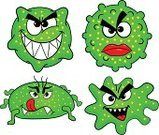 Symbol,Devil,Cartoon,Bacterium,Bacillus Subtilis,Imagination,Smiling,Ilustration,Virus,Spooky,Illness,Vector,Set,Cell,infected,Characters,Poisonous Organism,Parasitic,Contagion,Monster,Genetic Mutation,Small,Villain,Pollen,Making a Face,Brat,Pathogen,Animal,Alien,Collection,Horror,Biology,Computer Bug,Ugliness,Danger,Isolated,bacteriological,Micro Organism
