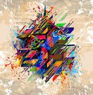 Geometric Shape,Backgrounds,Futuristic,Colors,Multi Colored,Abstract