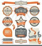Retro Revival,Interface Icons,Old-fashioned,Sign,Badge,Placard,Banner,Symbol,Computer Icon,Ribbon,Label,Blue,Insignia,Star Shape,Infographic,Award,Scroll Shape,Achievement,Stitch,Set,Design Element,Internet,Around,Web Element,Success,Winning,Empty,Blank,Party - Social Event,Vector,Ilustration