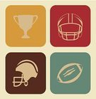 Work Helmet,Football,Championship,Ilustration,Recreational Pursuit,Decoration,Goal,Equipment,Winning,Athlete,Exercising,USA,Playing,Ball,Sport,Competition,Vector,Sports League