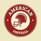 Work Helmet,Football,Winning,Ilustration,Competition,Championship,Recreational Pursuit,Goal,Decoration,Athlete,Sport,Vector,USA,Equipment,Playing,Protection,Sports League,Seal - Stamp,Care,Exercising