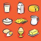 Food,Milk,Butter,Symbol,Dairy Product,Cheese,Computer Icon,Icon Set,Yogurt,Jug,Vector,Bowl,Breakfast,Cream,Drink,Ilustration,Healthy Eating,Eggs,Boiled Egg,Jar,Merchandise,Carton,Clip Art,Slice,Outline,Brush Stroke,Isolated,Isolated-Background Objects,Isolated Objects,Square,Food And Drink,Illustrations And Vector Art