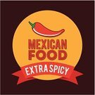 Chili Pepper,Food,Mexican Culture,Spice,Ribbon,Ilustration,Vector,Cultures,Latin American Culture