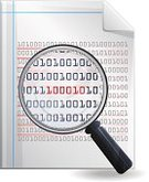 Laser,Mistake,Report,Software Error,Magnifying Glass,Identity,Binary Code,Searching,Discovery,Document,Page