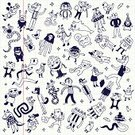 Cheerful,Ilustration,Child,Pen,Happiness,Making a Face,Sketch,Laughing,Gesturing,Ice,Imagination,Jumping,Dog,Monster,Humor,Ape,Sea Duck,Small,Undomesticated Cat,Vector,Box - Container,Fashionable,Youth Culture,Ink,Cartoon,Domestic Cat,Fun,Smiling,Crocodile,Star Shape,Rabbit - Animal,Genetic Mutation,Cute,Monkey,Cool,Action,Mascot,Dolphin,Friendship,Kitten,Duck,Lion - Feline,Single Line,Sheet,Animal,Toy,Computer Graphic,Funky,School Notebook,Bird,Doodle,Smiley Face,Hipster,Snake,Paper