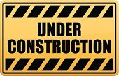Construction Industry,Sign,Warning Sign,Yellow,Danger,Warning Symbol,Vector,Under Construction Sign,Road Sign,Text