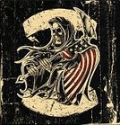Human Skull,Grim Reaper,Motorcycle,Flag,Old-fashioned,Grunge,Motorcycle Racing,Sign,Scythe,Sports Race,Tattoo,Print,Biker,Badge,Patriotism,Riding,Wheel,Old,Art,American Culture,USA,Jacket,Placard,Banner,People Traveling,Dead,The Americas,Power,Motocross,Chaos,Ilustration,Bicycle,Criminal,Vector,Horror,War,Riot,Freedom,Pinstripe,Speed,Rock and Roll,Human Bone,Ribbon,Striped,Patch,Label,Murderer,Afterlife,Danger,Death