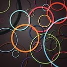 Multi Colored,Circle,Backgrounds,Abstract,Illustration,No People,Vector