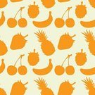 Fruit,Silhouette,Drawing - Art Product,Seamless,hand drawn,Food,Wallpaper Pattern,berrys,Backgrounds,Vector,No People,Orange Color,Outline,Berry Fruit,Color Image,Banana,Healthy Eating,Illustrations And Vector Art,Food And Drink,Strawberry,Pineapple,Healthy Lifestyle,Ilustration,Tropical Fruit,Pattern,Cherry,Abstract,Vibrant Color,Simplicity,Colors,Vegetarian Food