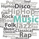 Music,Typescript,Jazz,Hip Hop,Text,Cloudscape,Rap,Rock and Roll,Social Networking,Advertisement,Sound,Radio,Disco,Mobility,Symbol,Alphabet,Shape,Label,Soul Music,Ideas,Concepts,Single Word,Design,Pop,Radio Dj,Artist,Folk Music,Word Cloud,Singing,Vector,Internet,Isolated,Musical Band,Backgrounds,Computer Graphic,Presentation,Creativity,Classical Music