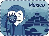 Mexico,Postage Stamp,Tomb,Journey,Smiling,Palm Tree,Ancient,Mayan,Travel Destinations,Pyramid,Architecture,Chichen Itza,Camera - Photographic Equipment,simbol,teaser,Men,Vector,Greeting Card,Photographer,Famous Place,Joy,Photograph,Landscape,Ecstatic,People Traveling,The Past,Photography Themes,Old Ruin,Business Travel,Yucatan,City,Business,Tourist,Latin America,Urban Scene,Country - Geographic Area,Laughing,Mountain,Ilustration,Computer Icon,Travel,Sign,Shirt,Photography,Happiness,Little Boys,Tourism