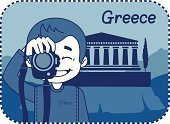 Greek Culture,Acropolis,Tourist,Smiling,Greece,Travel Destinations,Travel,People Traveling,Tourism,Famous Place,Business Travel,Ecstatic,Landscape,Camera - Photographic Equipment,Greeting Card,Photograph,Architecture,Old Ruin,Photography Themes,Joy,Ancient,Mountain,Sign,Parthenon,Vector,Business,Journey,Athens - Greece,Antique,simbol,teaser,Computer Icon,Men,Laughing,The Past,Photography,Postage Stamp,Little Boys,Ilustration,Shirt,Country - Geographic Area,Happiness,Temple - Building,Cypress Tree,Photographer