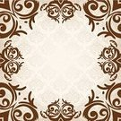 Vector,Decoration,Outline,Organic,Architectural Revivalism,Textile,Elegance,Symbol,Brown,Renaissance,Nobility,Silk,Pattern,Rococo Style,Backdrop,Leaf,Decor,Day,Ilustration,Affectionate,Wedding,Curtain,Invitation,Ornate,Backgrounds,Abstract