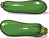 Zucchini,Ilustration,Organic,Nature,Vegetarian Food,Healthy Eating,Salad,Healthy Lifestyle,Ripe,Gourmet,Single Object,Farm,Vegetable,Ingredient,Freshness,Vector,Backgrounds,Isolated,Food