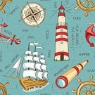 Old-fashioned,Map,Cartography,Retro Revival,Lighthouse,1940-1980 Retro-Styled Imagery,Nautical Vessel,Anchor,Wallpaper,Wallpaper Pattern,Sailing Ship,Backgrounds,Vector,Ship,Cartoon,hand drawn,Vacations,Abstract,Fleet of Vehicles,Exoticism,Direction,Print,Travel Destinations,Seamless,Pattern,Decoration,Adventure,Hand-Held Telescope,Blue,Navy Blue,Color Image,Drawing Compass,Sailboat,Design,Summer,Tropical Climate,Navigational Equipment,Travel,Compass,Wrapping Paper,Drawing - Art Product,Sailor,Drawing - Activity,Water,Sea,Navy,Cruise,Ilustration,Multi Colored,Wheel