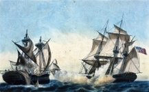 Warship,Nautical Vessel,Sailing Ship,Smoke - Physical Structure,Navy,Flag,American Culture,Color Image,Concepts And Ideas,Horizontal,People,C&i,Mpi Wt 9,America In Conflict,Visual Art,Time,Arts And Entertainment