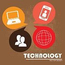 Vector,Styles,Collection,Equipment,Connection,Ilustration,Communication,Electricity,Internet,Computer Graphic,Telephone,Technology,Progress,Computer,Profile View,Laptop,Global,Global Communications,Smart Phone