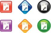Editor,Symbol,Change,Religious Icon,Filling,Computer Icon,Push Button,Office Interior,Interface Icons,Pencil,Business,Icon Set,Paper,Crystal,Sign,Document,Writing,Colors,Shiny,Red,Color Image,Circle,Internet,Turquoise,Blue,Concepts And Ideas,Objects/Equipment,Shape,Illustrations And Vector Art,Crystal,Square,Green Color,Curve,Set,shaped,www,Vector,Orange Color,Multi Colored,web icon,Diamond Shaped,white blackground,Web Page,Purple,Single Object,Individuality,Black Color,Square Shape