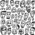 Computer Graphics,People,Emotion,Sadness,Friendship,Humor,Love,Symbol,Variation,Human Body Part,Human Head,Human Face,Human Hair,Furious,Drawing - Art Product,Ink,Family,Fun,Orthographic Symbol,Computer Graphic,Teenager,Adult,Cut Out,Caricature,Illustration,Cartoon,Sketch,Group Of People,Males,Men,Females,Women,Teenage Girls,Doodle,Vector,Hate,Characters,Collection,Facial Expression,Flirting,Single Line