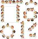 Child,Childhood,Group Of People,Friendship,Happiness,Cheerful,Cartoon,Infographic,Holding,Banner,Education,Human Face,Placard,Little Boys,Little Girls,Small,Frame,Image,Design,Isolated,Part Of,Communication,People,Concepts,Standing,Smiley Face,Computer Graphic,Drawing - Art Product,Design Element,Action,Family,Cute,Humor,Colors,Joy,Ideas,Smiling,Paintings,template,Fun,Ilustration,Decoration,Backgrounds,Vector
