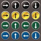Series,Image,Symbol,Sign,Label,Moving Up,Turning,Internet,Blue,Direction,Decoration,Curve,Directional Sign,Folded,Illustration,Downloading,Part of a Series,Vector,Collection,Right,Cancellation