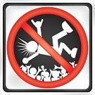 Crowd Surfing,Punk,Rock and Roll,Religious Icon,Modern Rock,Road Sign,Stop,Sign,Symbol,Crowd,Red,Black Color,Surf,Lifestyle Backgrounds,Music,Lifestyle,Silhouette,Arts And Entertainment