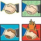Partnership,Greeting,Human Hand,Handshake,Vector,Meeting,Friendship,Currency,Business,Agreement,Businessman,Cartoon,Clip Art,Devil