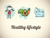 Exercising,Dieting,Child,Sleeping,Organic,Food,Infographic,Ilustration,Carrot,Vector,Beige,Avocado,Pattern,Life,Design,Healthcare And Medicine,Label,Freshness,Merchandise,Food And Drink,Lifestyles,Vegetable,Pillow,Broccoli