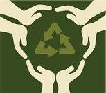 Rescue,Planet - Space,Care,Global,Protection,Biology,Ilustration,Environment,Recycling,Human Hand,Symbol,Vector
