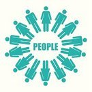 Teamwork,Abstract,Poster,Ilustration,Organized Group,Design,Leadership,People,Profile View,Symbol,Vector