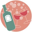 Champagne,Bubble,Wine,Bottle,Party - Social Event,Wine Bottle,Event,Group of Objects,Celebratory Toast,Engagement,Celebration,Alcohol,Holiday,Vector,Celebration Event,Drink,Clip Art,Illustrations And Vector Art,Design,Digitally Generated Image,Two Objects,Glass,Computer Graphic,Life Events